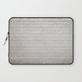 """MUSIC by collection """"Music"""" Laptop Sleeve"""