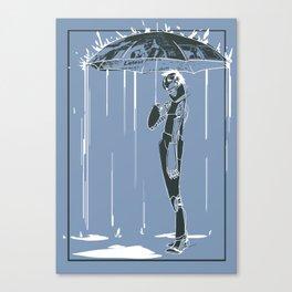 Manchester Rain Canvas Print
