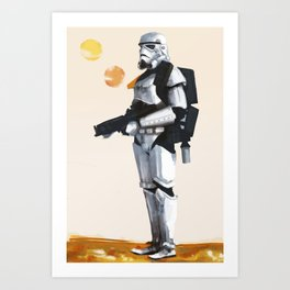Join the Stormtrooper Corps Art Print