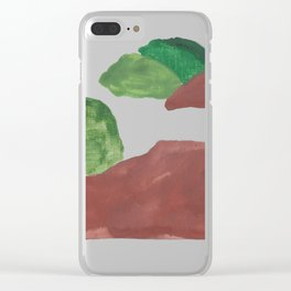 15    | Mountain Watercolour Painting  | 190402 Clear iPhone Case