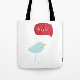 Hello Birdie Tote Bag