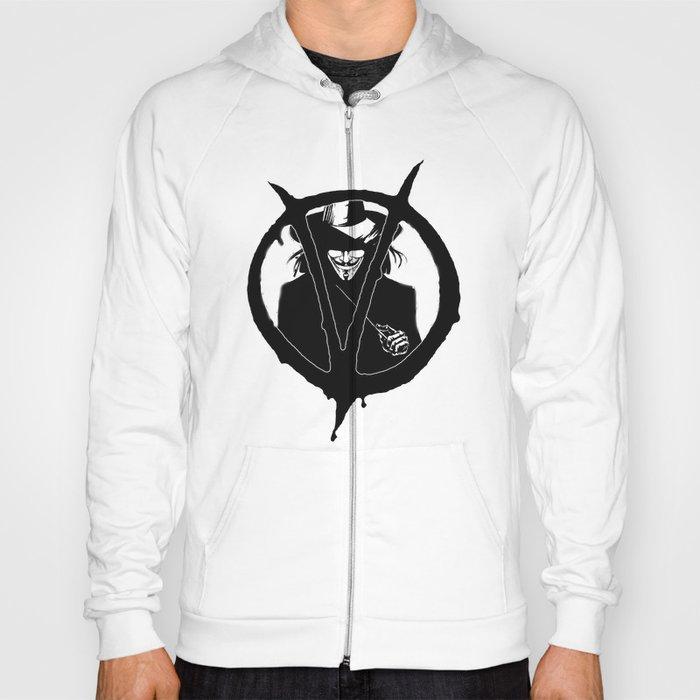 V for Vendetta3 Hoody