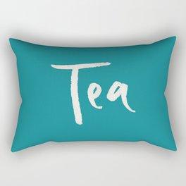 Teal Tea Rectangular Pillow