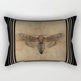 Death Head Rectangular Pillow