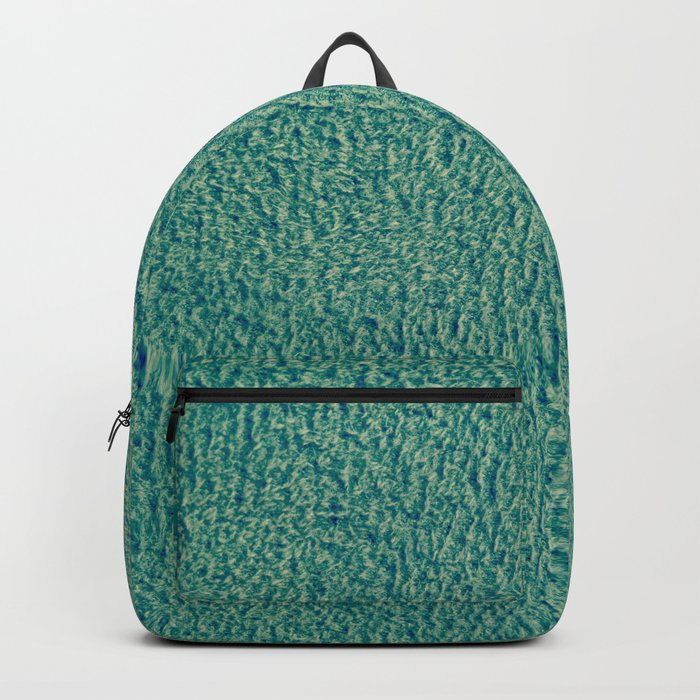 Green Fuzz Backpack