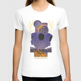 BINARIUS EPISODE I -- COVER (WHITE) T-shirt