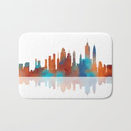 New York Skyline 2 Bath Mat