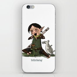 The Littlest Blood Mage iPhone Skin