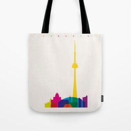 Shapes of Toronto. Accurate to scale Tote Bag