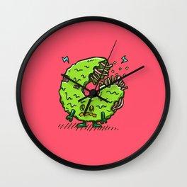 Zombie Donut 02 Wall Clock