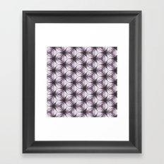 pttrn4 Framed Art Print