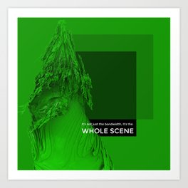 WHOLE SCENE Art Print