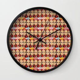 Brazilian handicraft Wall Clock