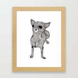 Chihuaha Framed Art Print