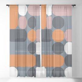 Domino 06 Sheer Curtain