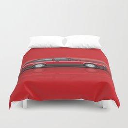Alfa Romeo GTV6 Red Stripes Duvet Cover