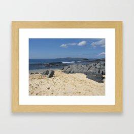 Isle of Harris, Scotland Framed Art Print