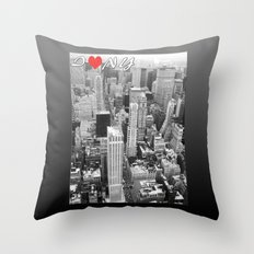 New York - Traveling series Throw Pillow
