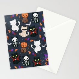 Kitty - Halloween Stationery Cards