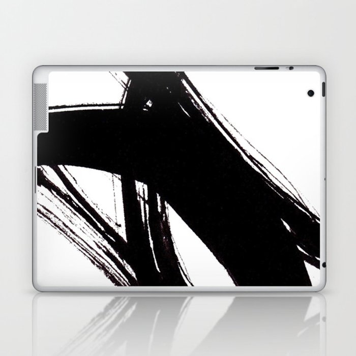 Abstract Wall Art Abstract Print Black White Abstract Print Black White Art Minimalist Print Ab Laptop Ipad Skin By Pdfdecor
