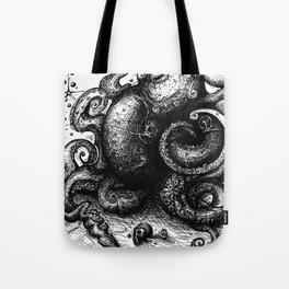 Octopus #8 Tote Bag