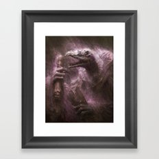 skekOK, the Scroll-Keeper Framed Art Print