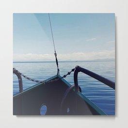 Taupo boat trip Metal Print