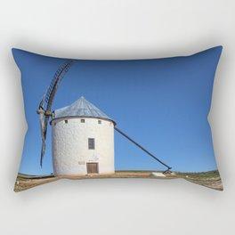 Spanish Windmill Rectangular Pillow