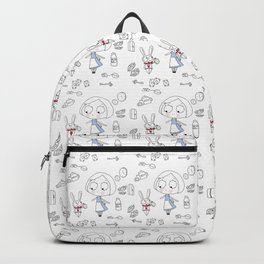 """Curiouser and Curiouser"" Backpack"