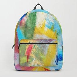 Feathery Swirl Backpack