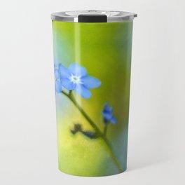 Forget-Me-Not Flower Travel Mug