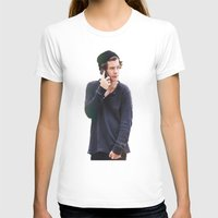 harry styles T-shirts featuring Harry Styles by Christa Morgan ☽