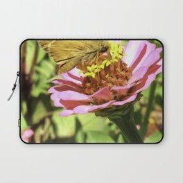 Not A Moth But A Small Skipper Butterfly Laptop Sleeve