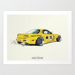ozizo art 0008 Art Print