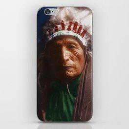 Eagle Elk (He Xa Wan ba li) - Oglala - American Indian iPhone Skin