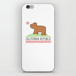 Kawaii California Republic iPhone Skin