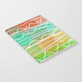 Rainbow Window Notebook