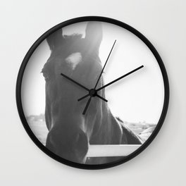 Renegade Black and White Wall Clock