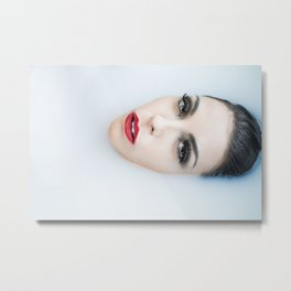 Milk Bath Metal Print