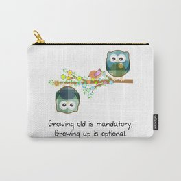 Cute Owls Growng Up Carry-All Pouch
