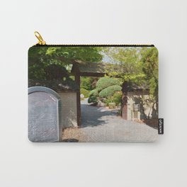 Entrance gate of the Japanese garden Carry-All Pouch