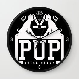 BQ - PUP (white) Wall Clock