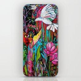 Peace, Love, Understanding iPhone Skin