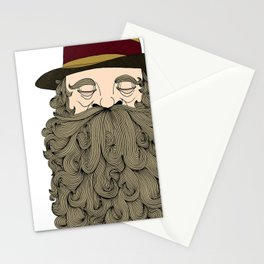 Musky Old Man Stationery Cards