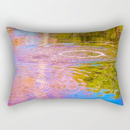 Psychedelic Tar Pit Rectangular Pillow