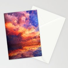Sunset Abstraction Stationery Cards