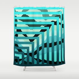 TOPOGRAPHY 2017-007 Shower Curtain