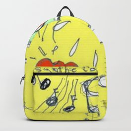 SATIE unsent love letter                by Kay Lipton Backpack
