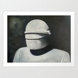 Gort: Klaatu barada nikto Art Print