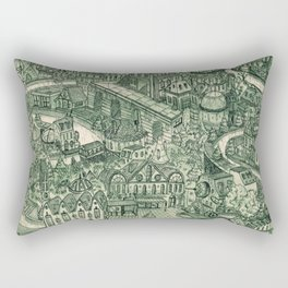 Two Cannels Rectangular Pillow